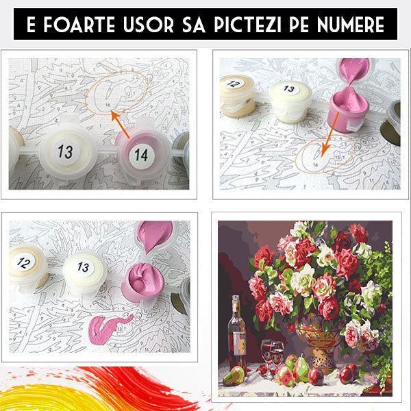 Pictura pe Numere - Decor Vintage