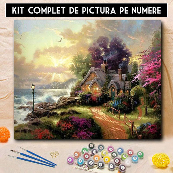 Kit Pictura pe Numere - Tihna