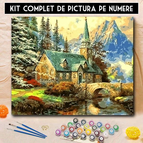 Kit pictura pe numere - Liniste