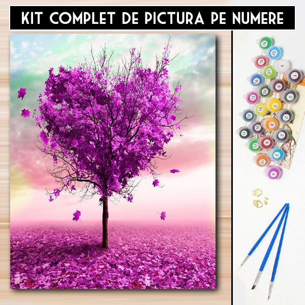 Kit Pictura pe Numere - Amor abstract