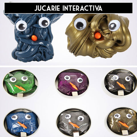 jucarie interactiva, slime magnetic