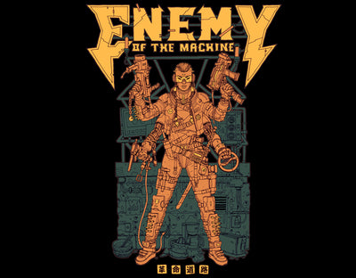 Enemy_of_The_Machine / T_Shirt