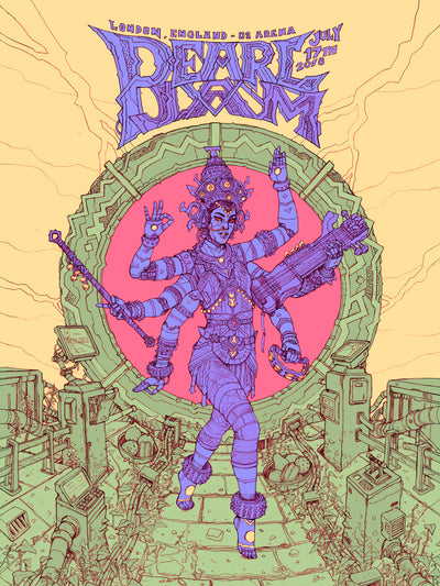 Pearl Jam - London Poster