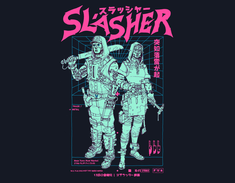Slasher / T_Shirt