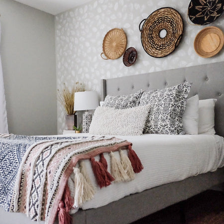 How a Tall Headboard Can Give Your Bedroom Serious Style Points