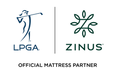 Zinus is The Official Mattress Partner of LPGA