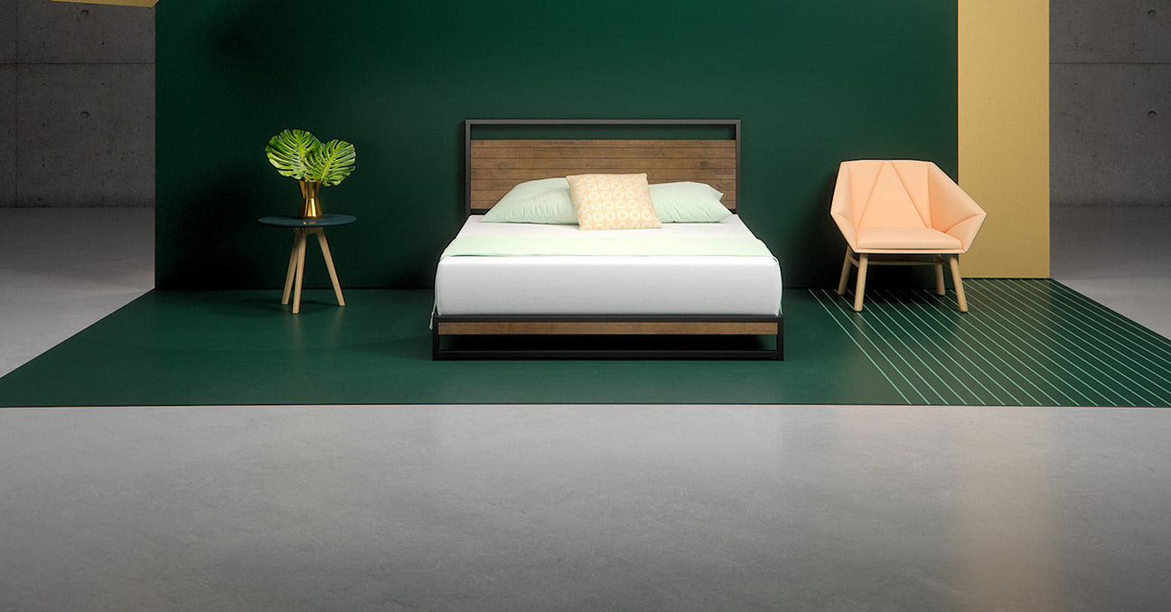 Suzanne Low Profile Platform Bed Frame Zinus
