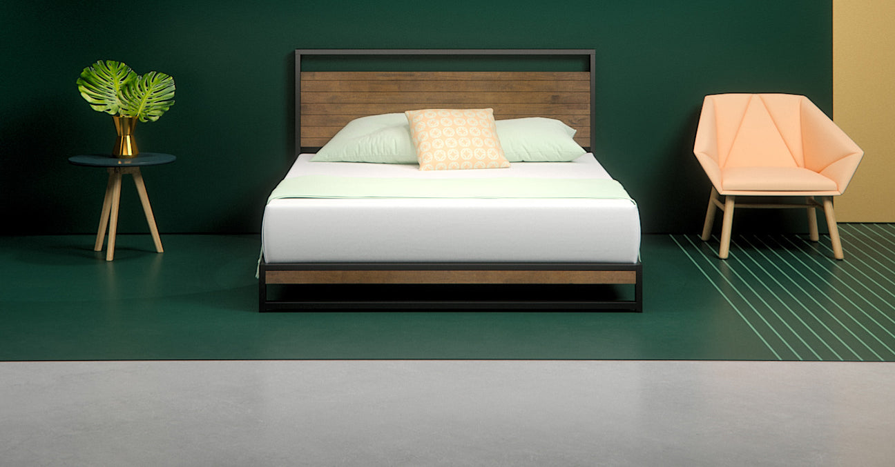 Ironline Low Profile Platform Bed Frame Zinus
