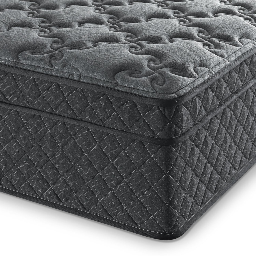 Black Hybrid Gel Memory Foam Mattress