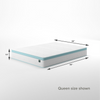 Mint Green Foam Hybrid Spring Mattress Thumbnail