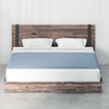 Brock Metal and Wood Platform Bed Frame Thumbnail