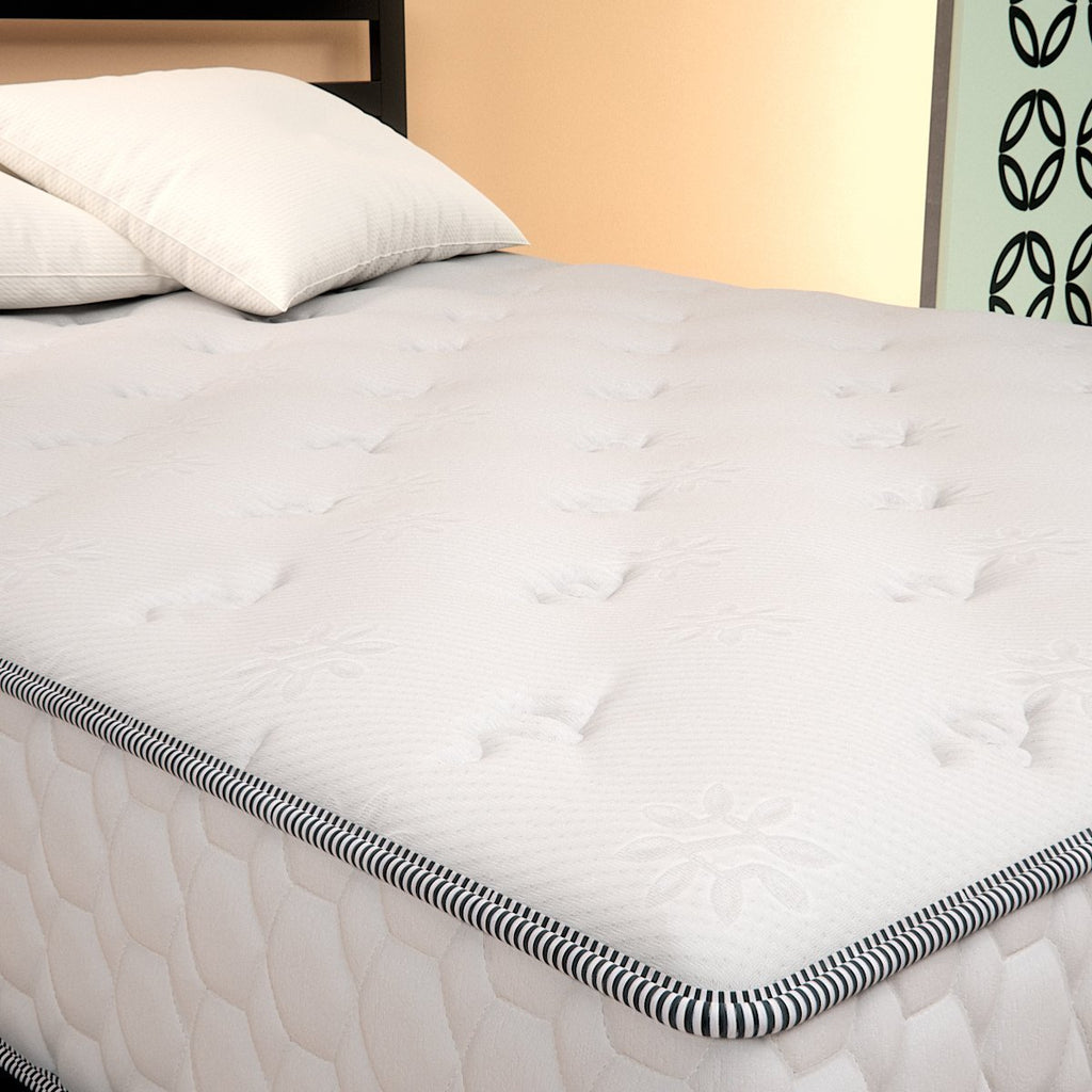 Cooling Pocketed iCoil® Spring Mattress - angle overhead