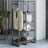 Brock Etagere Bookcase with Hanging Storage Thumbnail