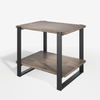 Brock Metal and Wood Side Table Thumbnail