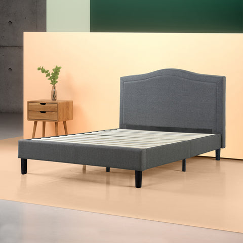 Anne Upholstered Platform Bed Frame