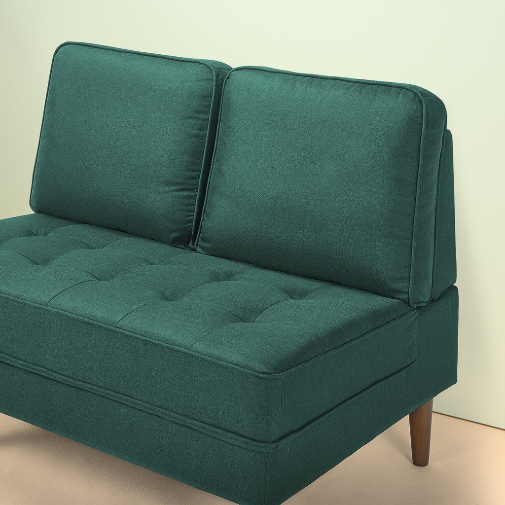 Christine Armless Loveseat