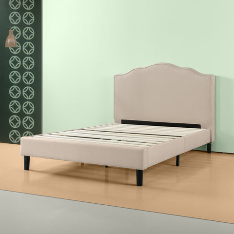 Paris Upholstered Platform Bed Frame