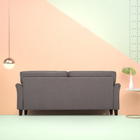 Sand Grey Traditional Sofa Thumbnail