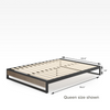 2019 GOOD DESIGN™ Award Winner - Suzanne Metal and Wood Platforma Bed Frame 10inch Queen Size Dimensions Thumbnail
