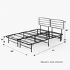 SmartBase Mattress Foundation with Headboard queen size shown Thumbnail