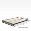 2019 GOOD DESIGN™ Award Winner - Suzanne Metal and Wood Platforma Bed Frame 6 inch Queen Size Dimensions Thumbnail