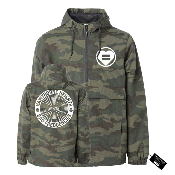 Hawthorne Heights - Bad Frequencies Anorak Jacket