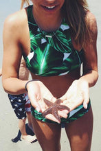 Load image into Gallery viewer, Cupshe Leaf Bikini