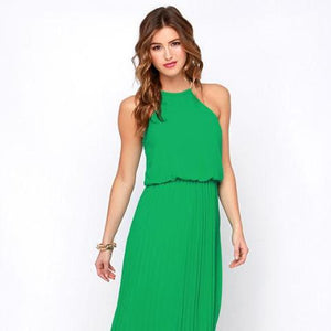 LuLus Without Further Ado Maxi Dress