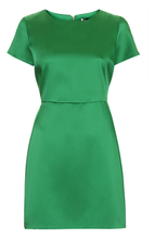 Load image into Gallery viewer, Topshop Satin Emerald Dress
