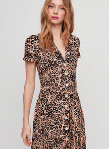 Wilfred Leopard Shirt Dress