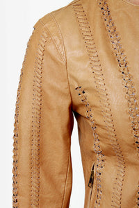BB Dakota Antonia Buckskin Leather Jacket