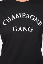 Load image into Gallery viewer, Queen Bees Champagne Gang T-Shirt (M)