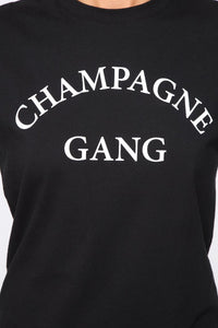 Queen Bees Champagne Gang T-Shirt (M)