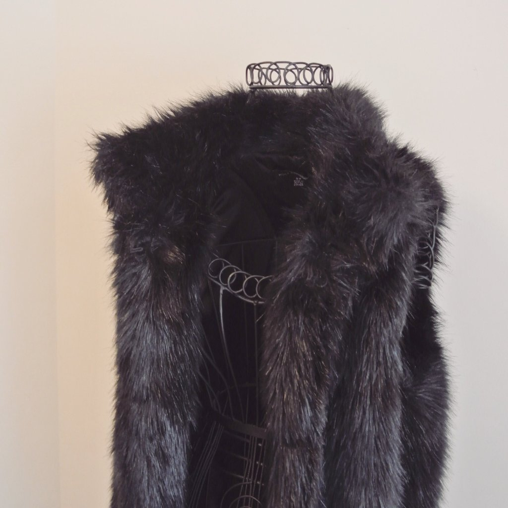 Holt Renfrew Faux Fur Vest