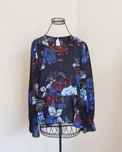 Load image into Gallery viewer, Zara Woman Floral Peplum Blouse
