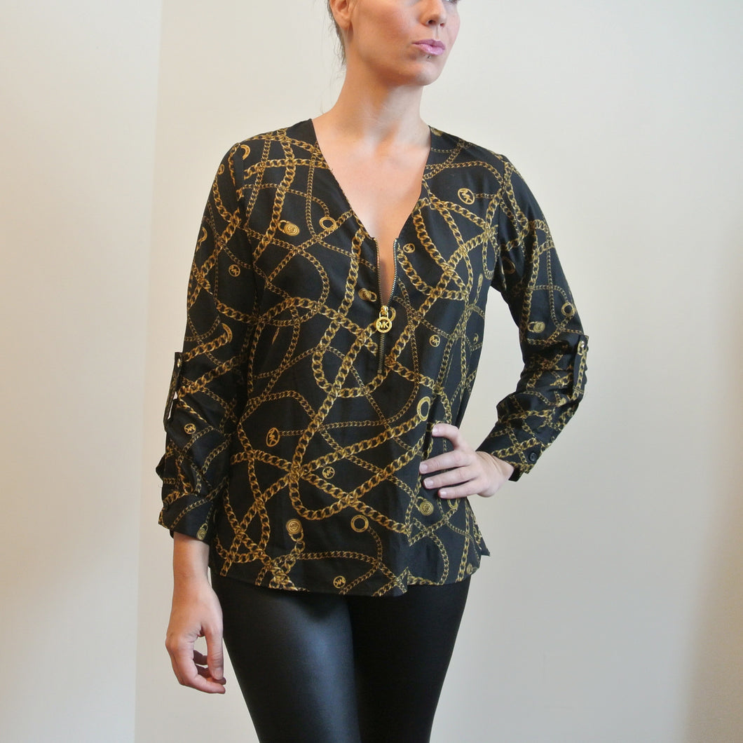 Michael Kors Chain Blouse