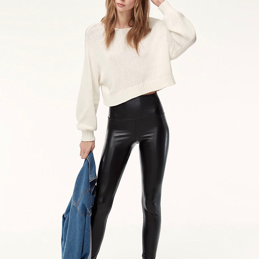 Wilfred Daria Vegan Leather Leggings