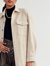 Load image into Gallery viewer, Shein Drop Shoulder Oversized Coat (M-L)