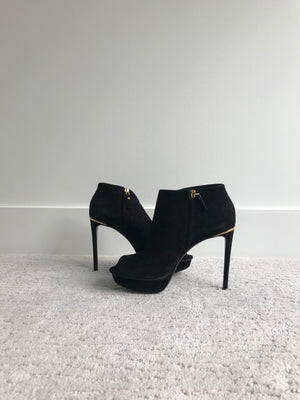 Authentic Louis Vuitton Peep Toe Bootie