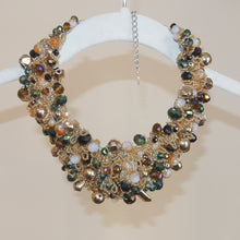 Load image into Gallery viewer, Aldo Gem Statement Necklace