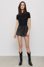 Load image into Gallery viewer, Dynamite Black Denim Shorts