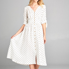 Load image into Gallery viewer, Ellison Polka Dot Dress