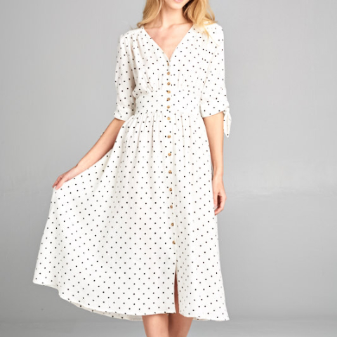 Ellison Polka Dot Dress