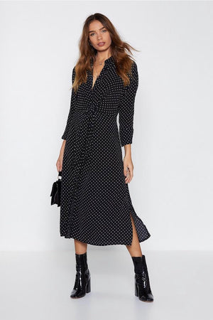 Nastygal Don't Spot Believing Dress