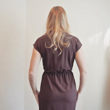 Load image into Gallery viewer, Vintage Mauve Dress with Gold Detail
