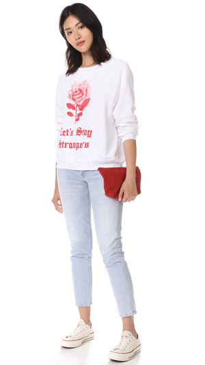 Wildfox Let's Stay Strangers Sweatshirt