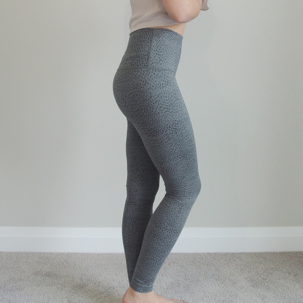 Lululemon Spotted Wunder Under Tights