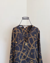 Load image into Gallery viewer, Michael Kors Chain Blouse