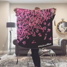 Load image into Gallery viewer, Authentic Louis Vuitton Graffiti Scarf