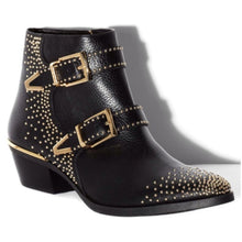 Load image into Gallery viewer, Vince Camuto Studded Ankle Boot